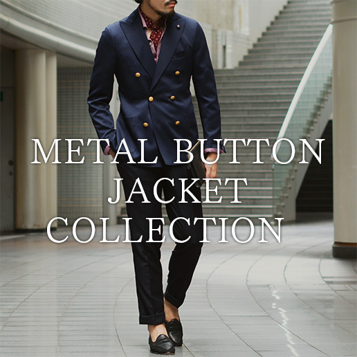 METAL BUTTON JACKET COLLECTION