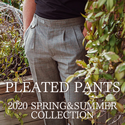 PLEATED PANTS COLLECTION 20SS