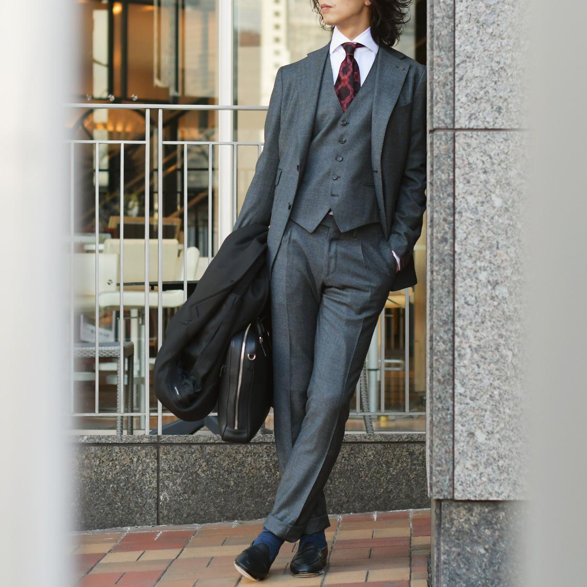 インテリ英国紳士のスーツスタイル!TAGLIATORE【タリアトーレ】
