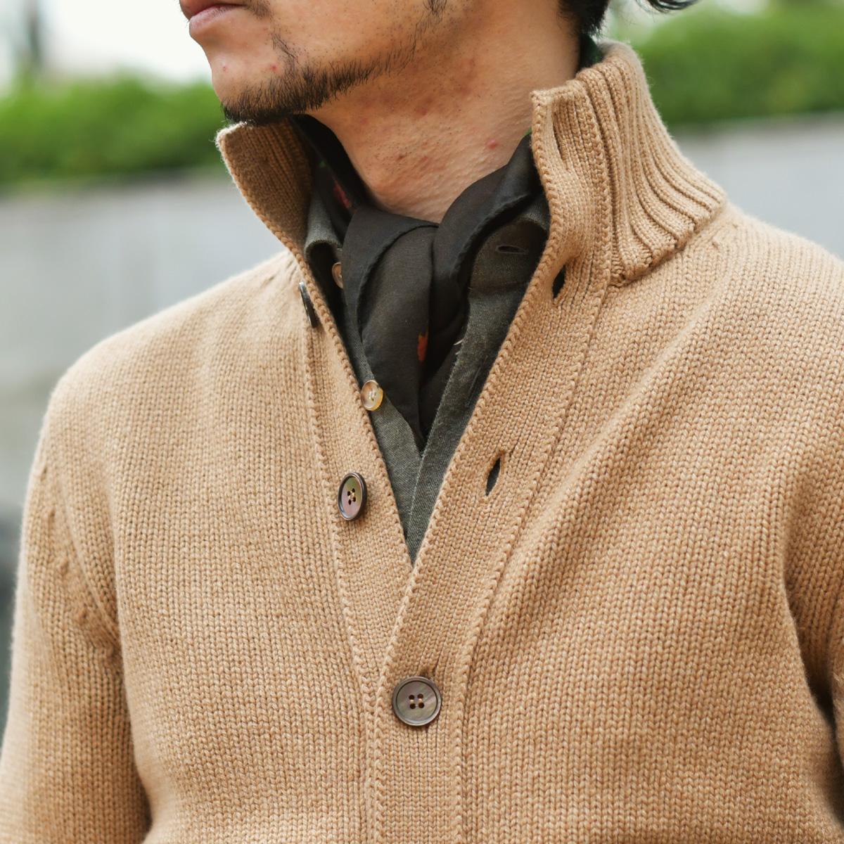 冬のファッションを楽しくするレイヤードスタイル!TAGLIATORE【タリアトーレ】