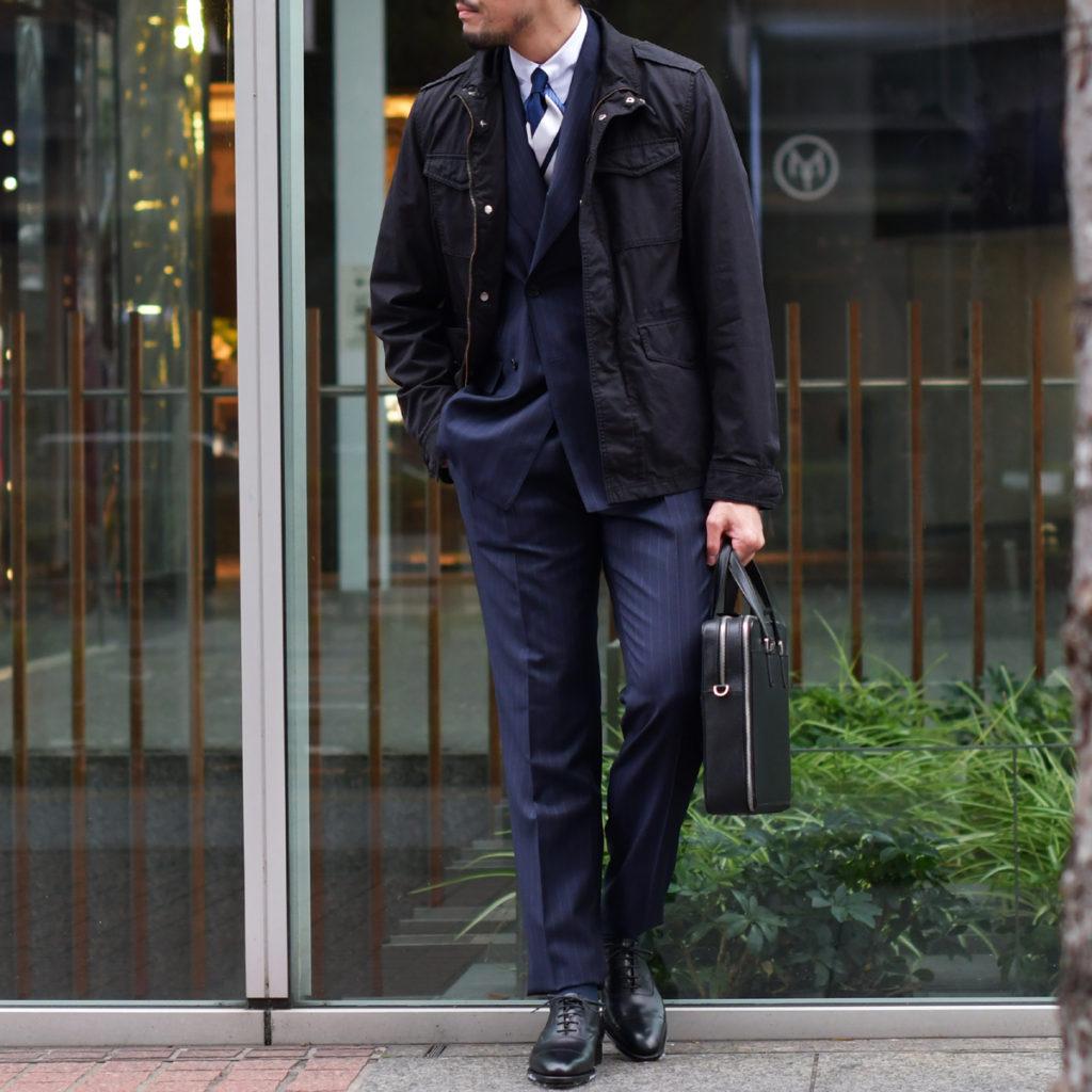 英国紳士への最短ルート!!De Petrillo【デ ペトリロ】ダブルスーツ