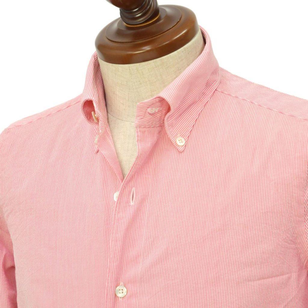 Finamore【フィナモレ】ボタンダウンシャツをご紹介します。