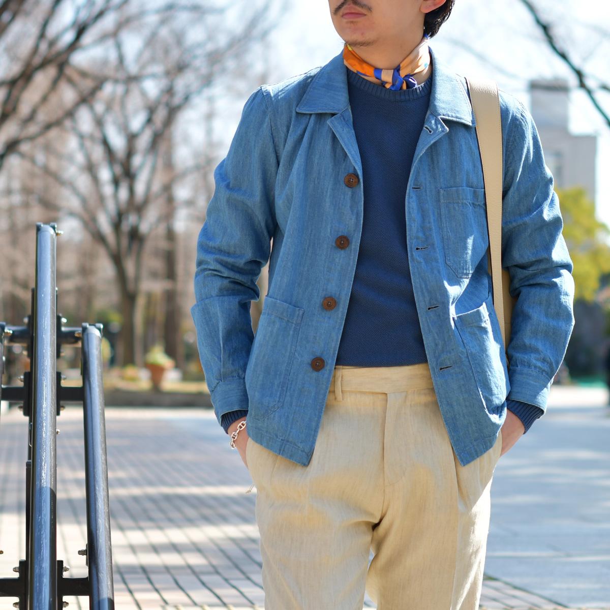 1着あると便利なジャケット代わりのカバーオール!LARDINI【ラルディーニ】
