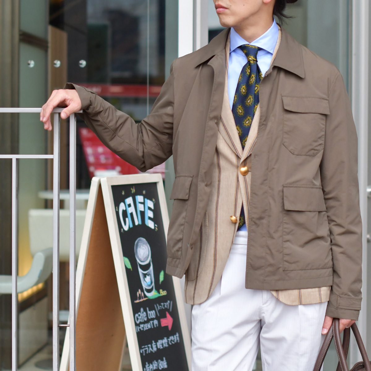 ラギット&クリーンな春のジャケットスタイル!HERNO【ヘルノ】