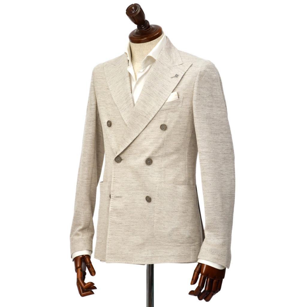 TAGLIATORE【タリアトーレ】ダブルジャージージャケットをご紹介致します。