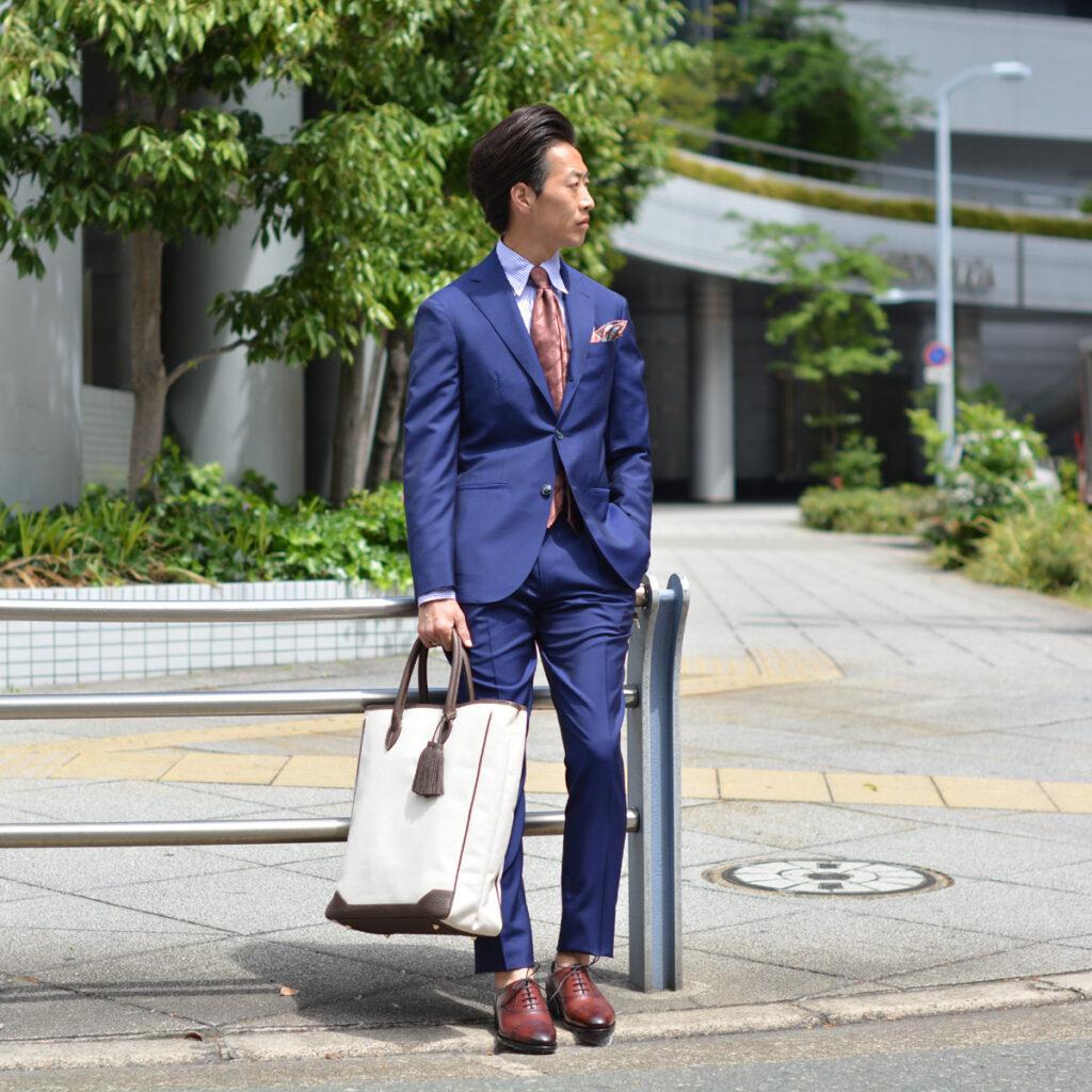 渾身の1着はこのBARBA【バルバ】スーツ!