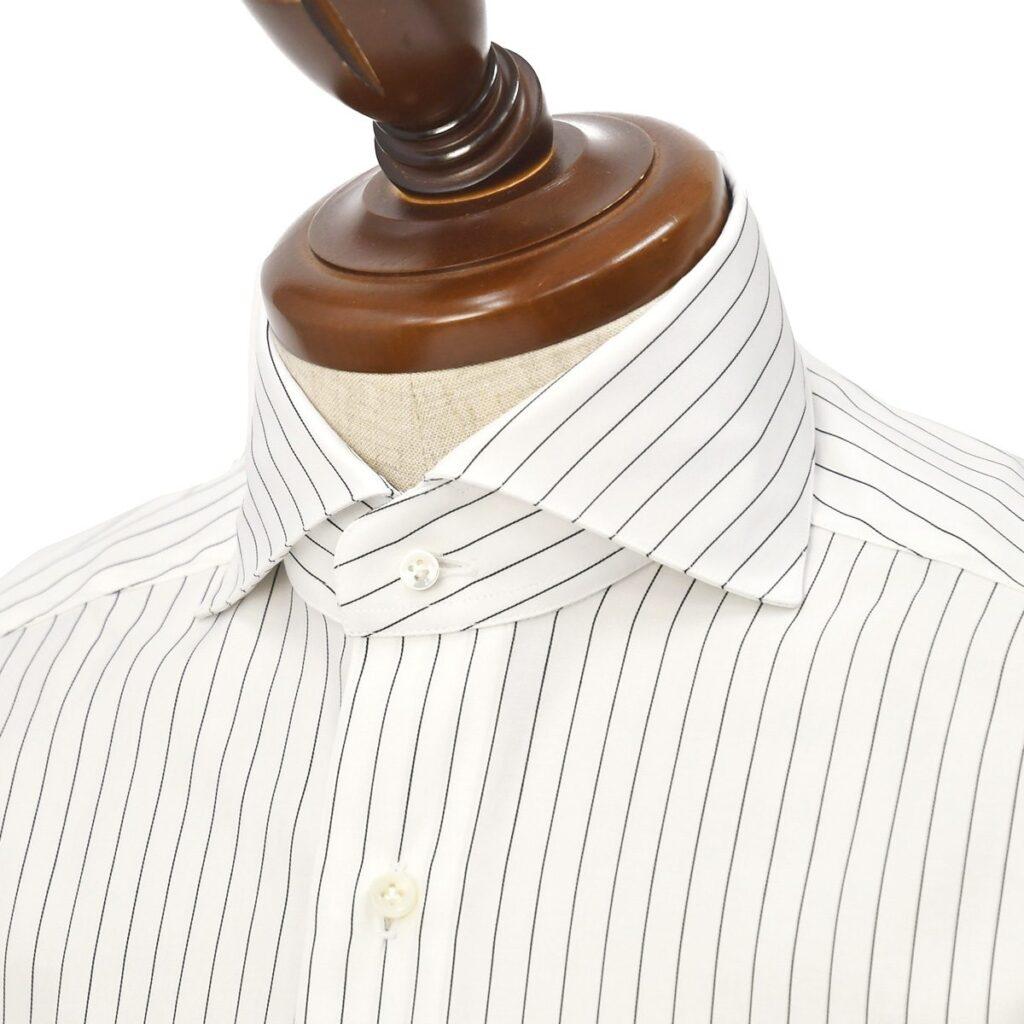 BARBA【バルバ】のモノトーンドレスシャツコレクションをご紹介です。