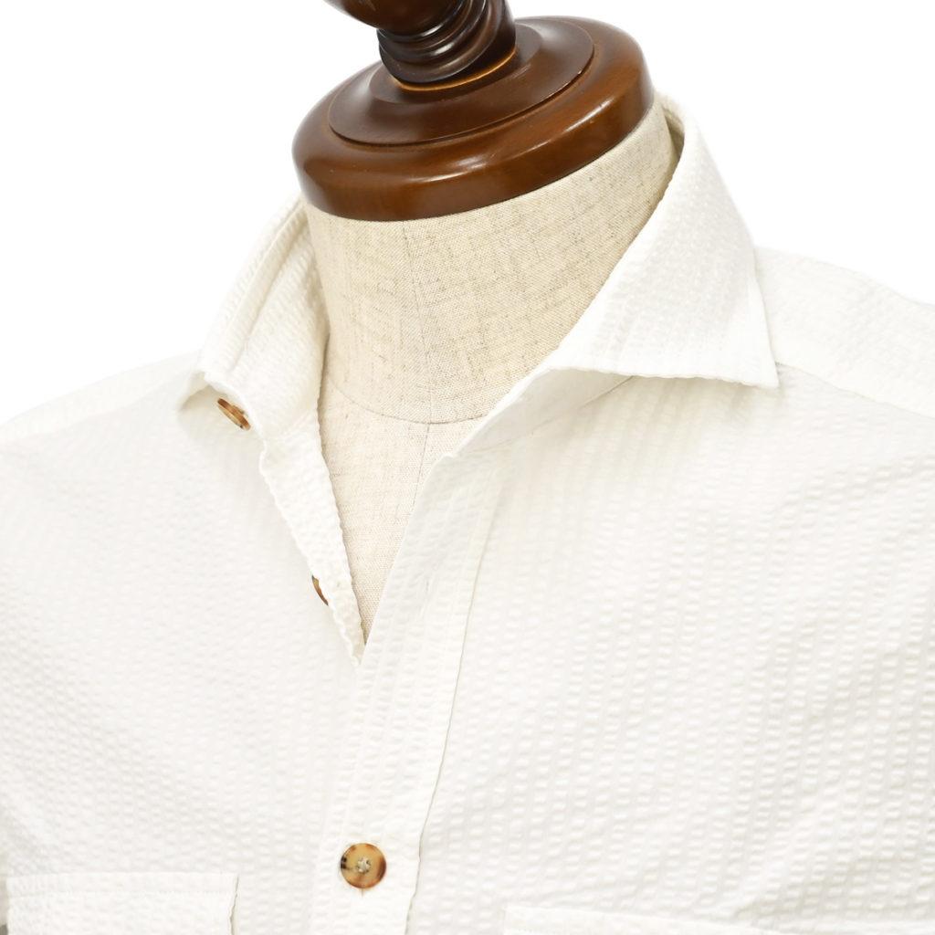 BARBA DANDY LIFE【バルバ ダンディライフ】ミリタリーオーバーシャツをご紹介致します。