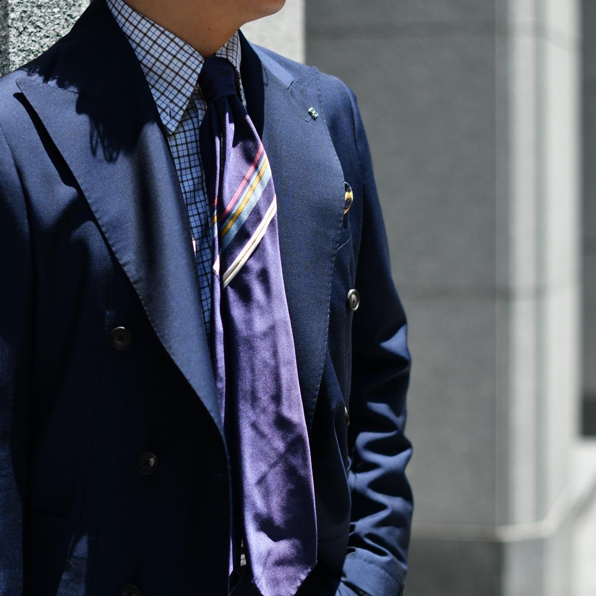 自由な着こなしを楽しむスーツスタイル!!TAGLIATORE【タリアトーレ】
