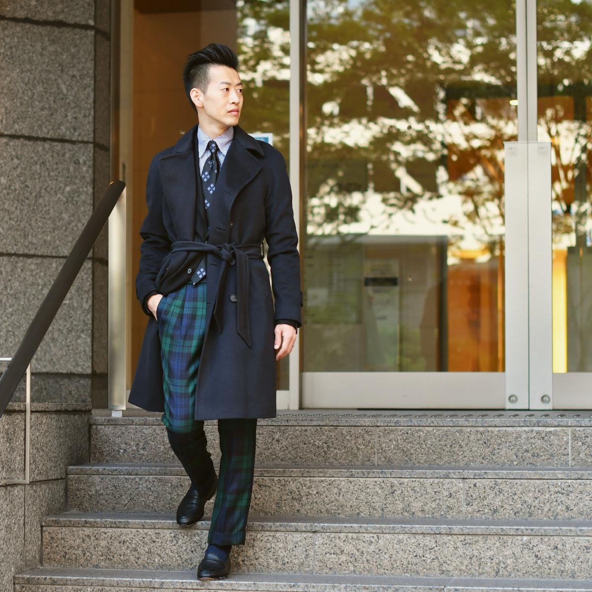 英国感漂う上品な紳士スタイル!!TAGLIATORE【タリアトーレ】