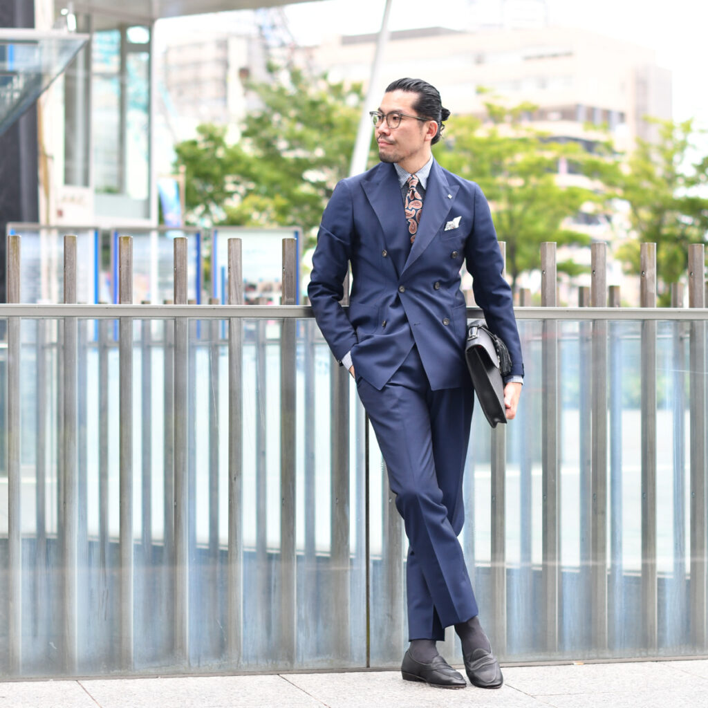 こなれ感漂う洒落乙ビジネススタイル!!TAGLIATORE【タリアトーレ】