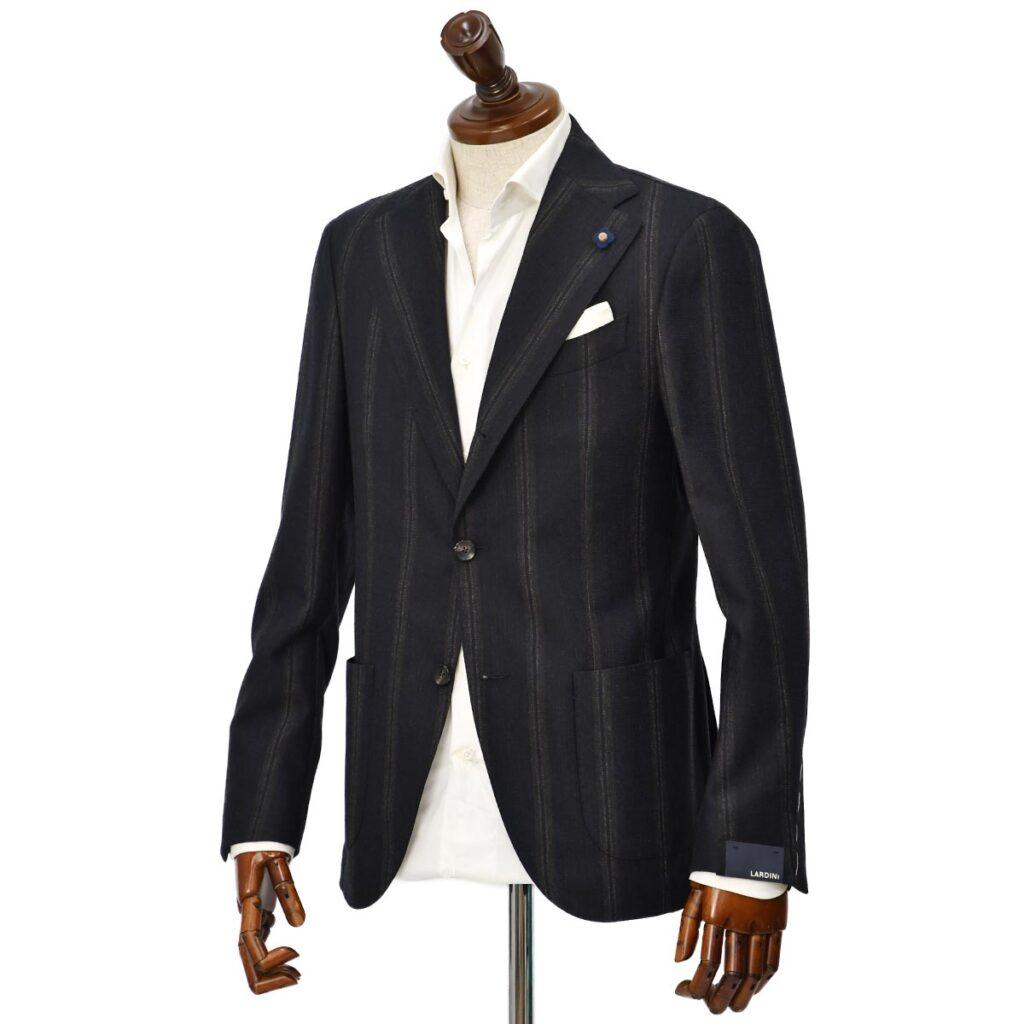LARDINI【ラルディーニ】 シングルジャケットをご紹介致します。