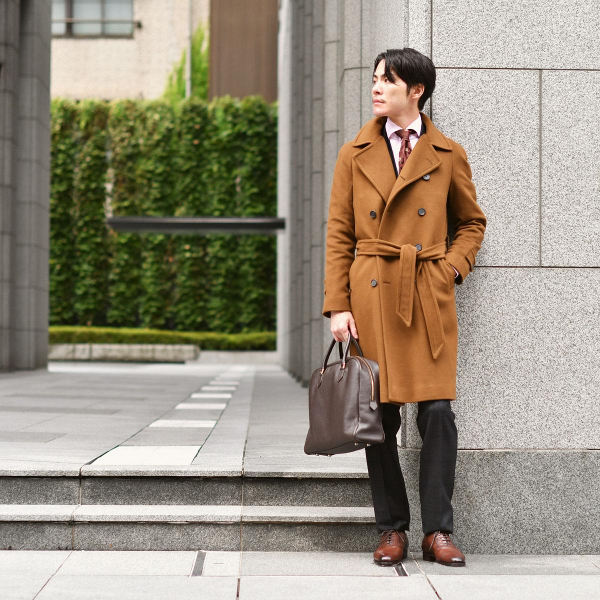 カシミアを纏った格上げビジネススタイルTAGLIATORE【タリアトーレ】