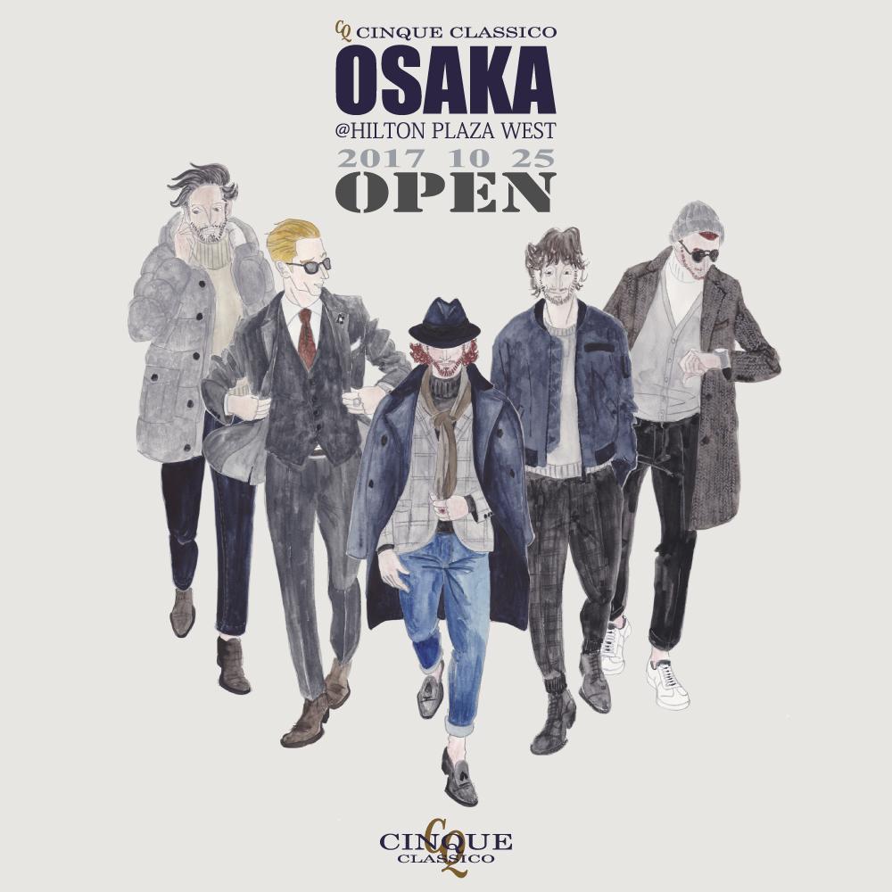 ~CINQUE CLASSICO OSAKA店 3周年~