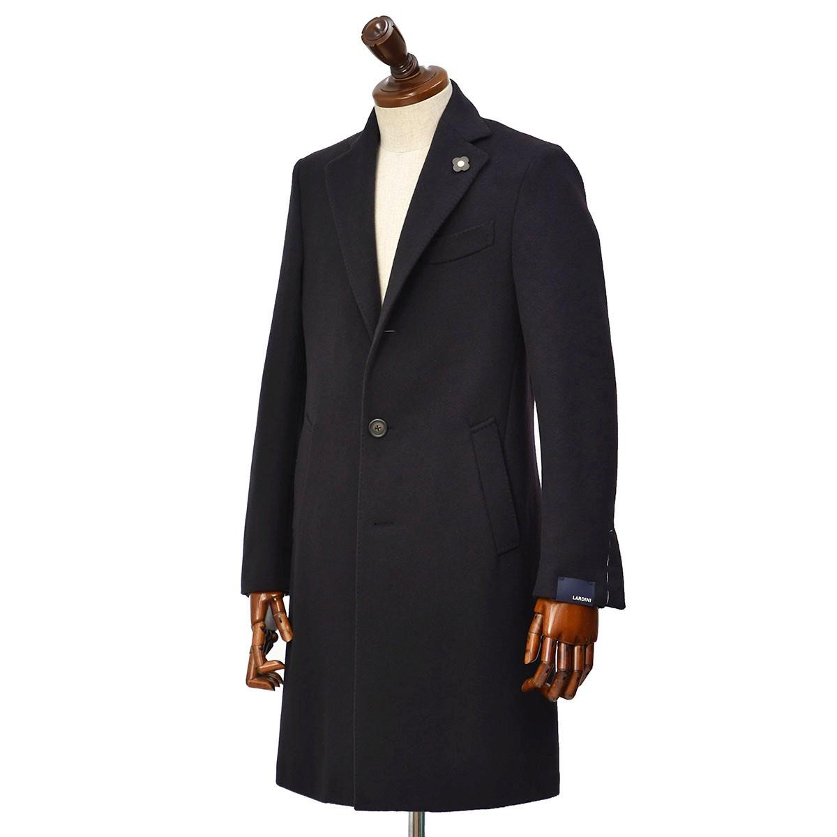 LARDINI【ラルディーニ】 シングルチェスターコートをご紹介致します。