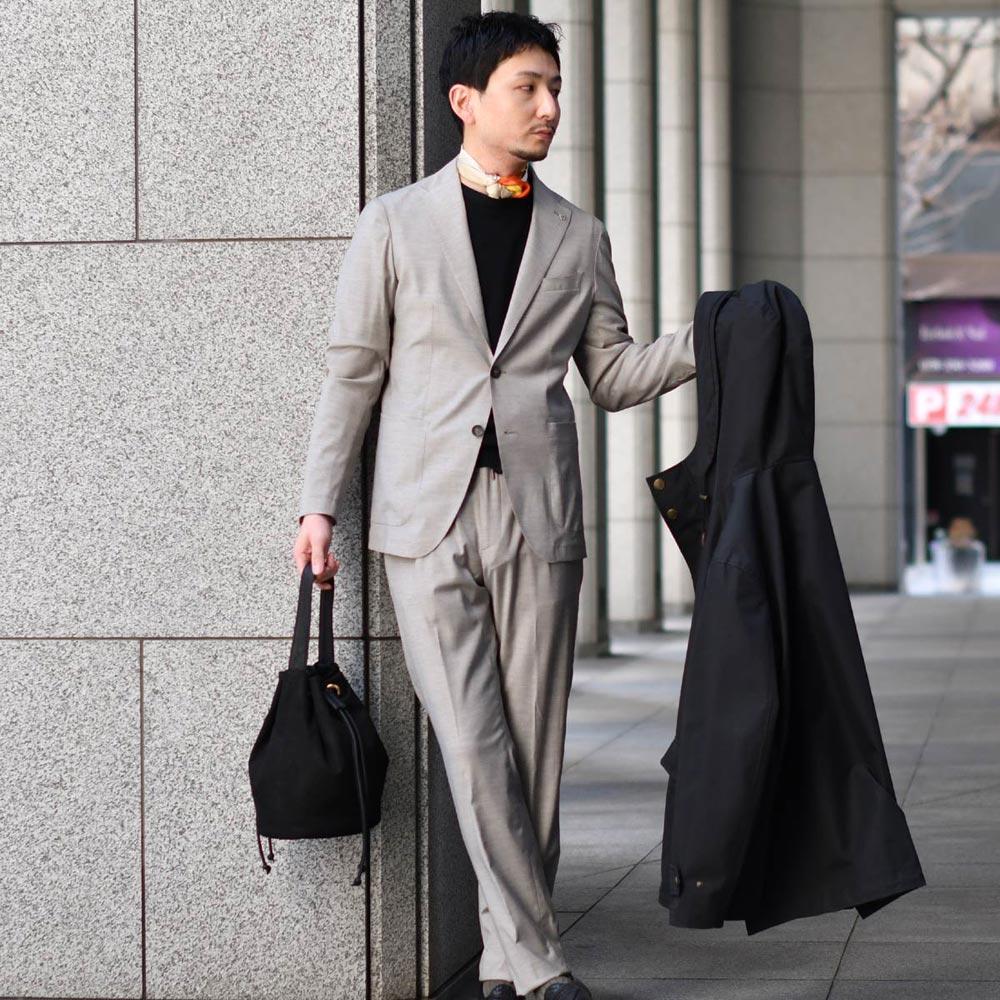 ラク~に行きたい春スーツ!TAGLIATORE【タリアトーレ】