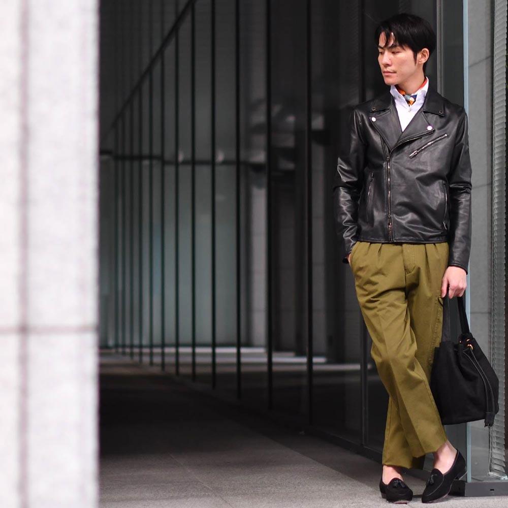 男の格が上がるモダンミリタリースタイル!!TAGLIATORE【タリアトーレ】
