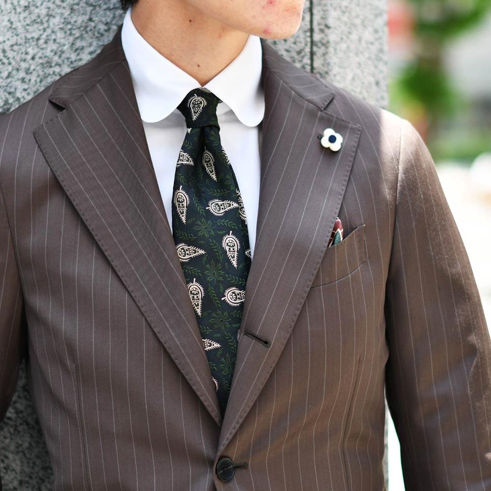 新定番!ブラウンスーツの楽しみ方!LARDINI【ラルディーニ】