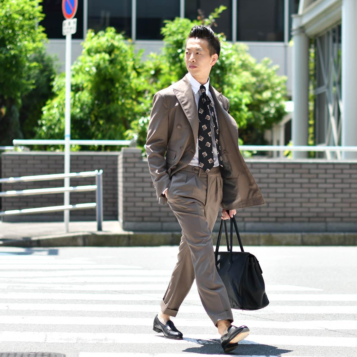 艶っぽさと色気を醸し出すスーツスタイル!!De Petrillo【デ ペトリロ】