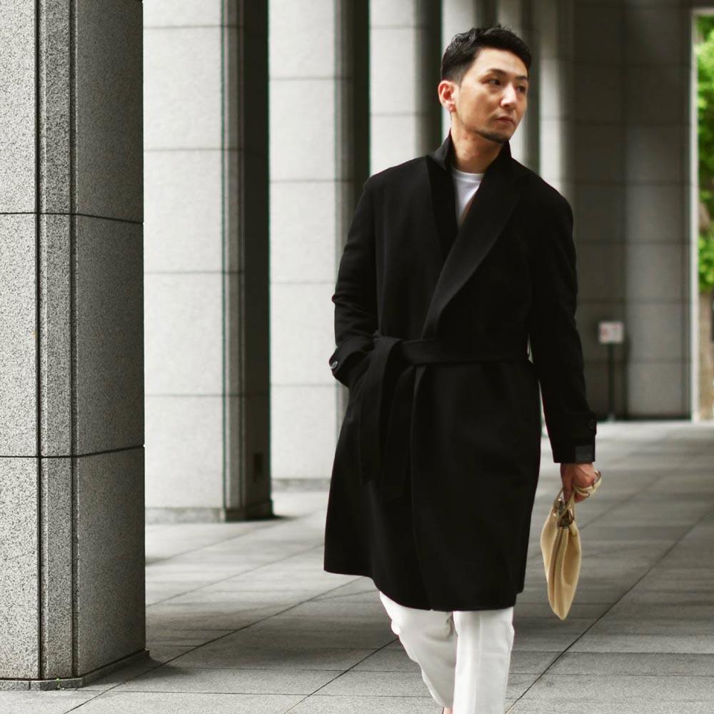 羽織るならコレ!ベルテッドコートで男らしく!TAGLIATORE【タリアトーレ】