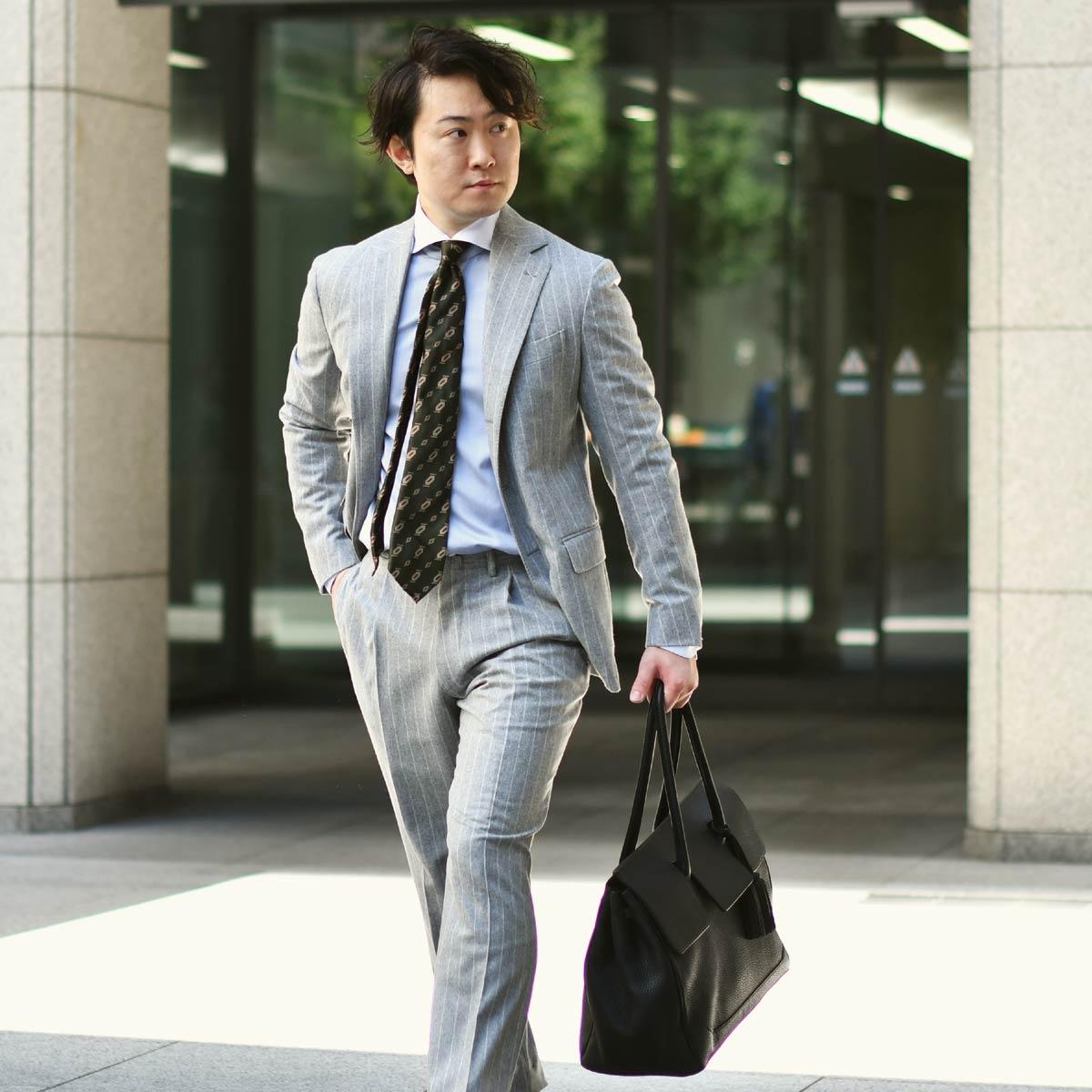 気品と風格を纏う、洗練されたスーツスタイル!!De Petrillo【デ ペトリロ】
